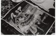 NATHAN LYONS (AMERICAN, B. 1930) MEXICO CITY (TWO PHOTOGRAPHS) GELATIN SILVER 4-