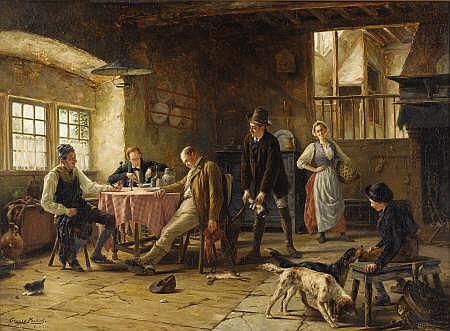 GERARD JOZEF PORTIELJE (Belgian 1856 - 1929)