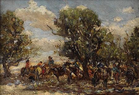 FRANK PAUL SAUERWEIN (American 1871 - 1910)