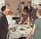 DOUGLASS CROCKWELL (American, 1904-1968) Thanksgiving D, Douglass Crockwell, Click for value