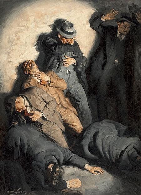 EDMUND F. WARD (American, 1892-1991) St. Valentine's Da