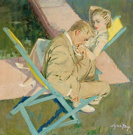 COBY WHITMORE (American, 1913-1988) Sincerely, Willis W