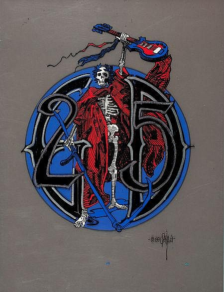 RICK GRIFFIN (American, 1944-1991) Grateful Dead 25th A