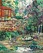 WILLIAM SLOCUM DAVENPORT (American, 1868-1938) Red Hous