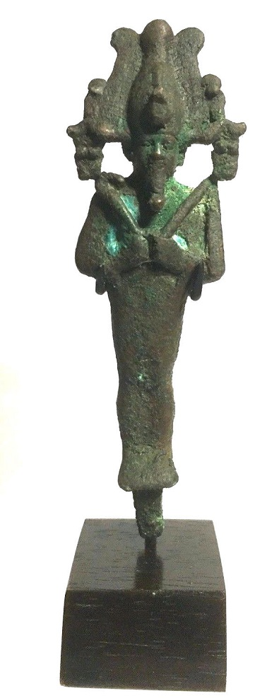 Ancient Egyptian Bronze Osiris.