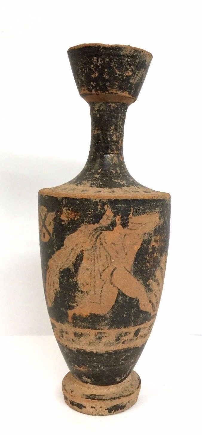 Ancient Greek black-figured lekythos