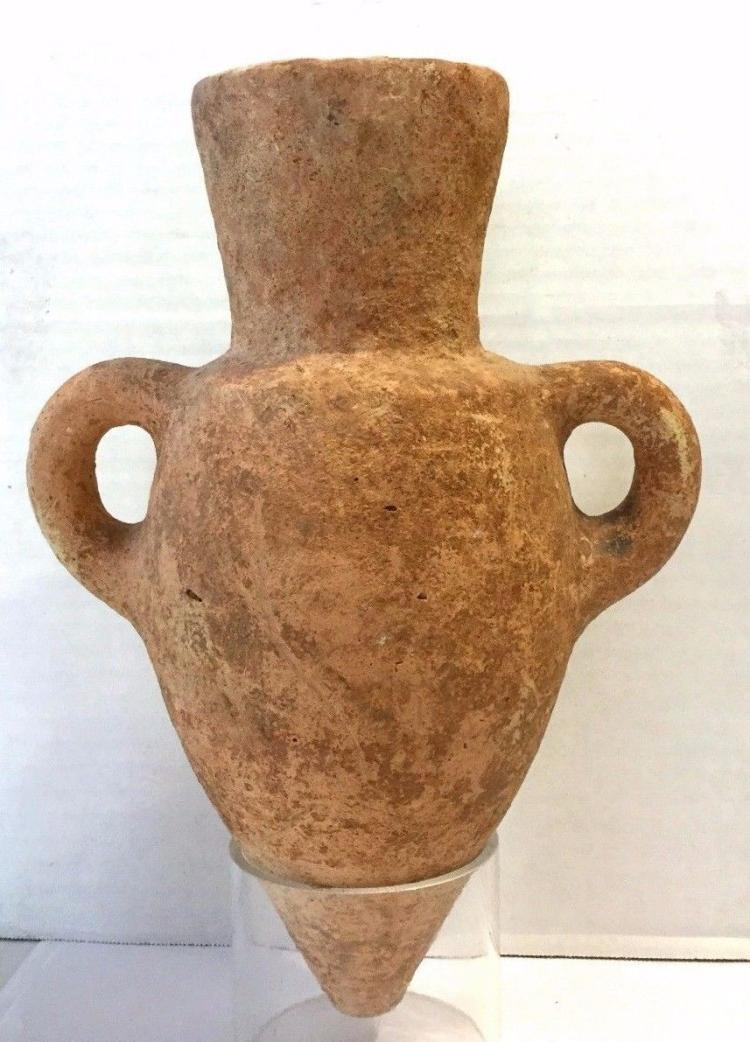 Ancient Roman clay Amphora