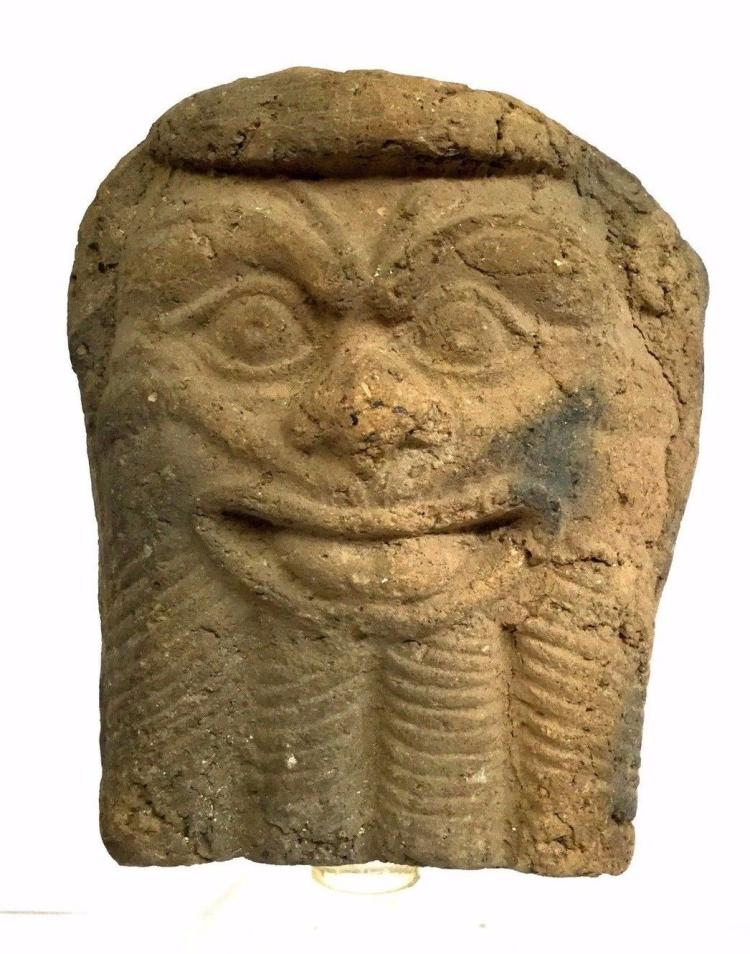 Large Ancient Near east pottery Pazuzu Amulet