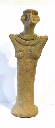 Large Western Asiatic Syro-Hittite Idol .