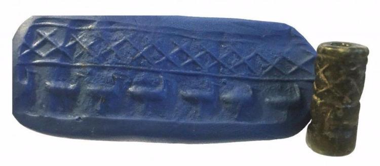Sumerian Steatite Cylinder seal