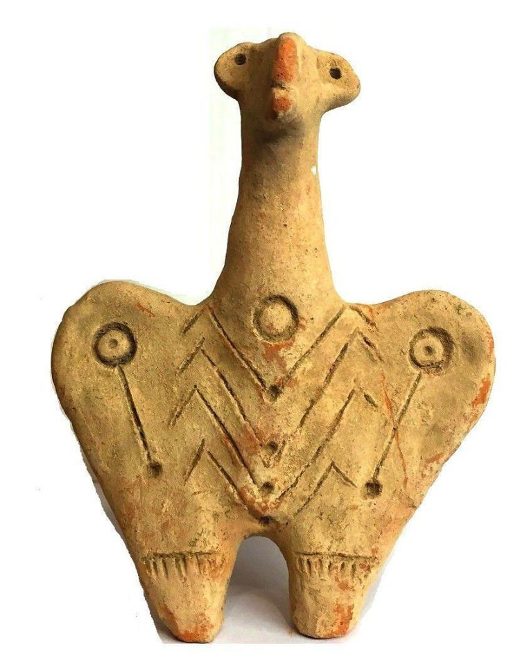 Ancient Amlash Pottery Ram