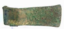 Ancient European Prehistoric Bronze Age Axe .
