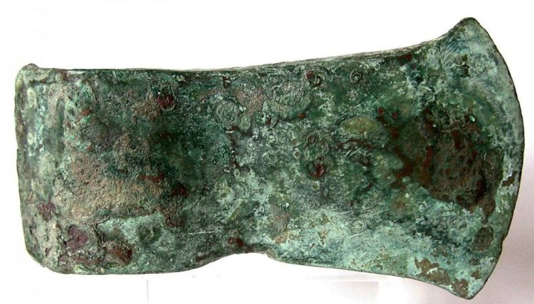 Ancient European Prehistoric Bronze Age Axe