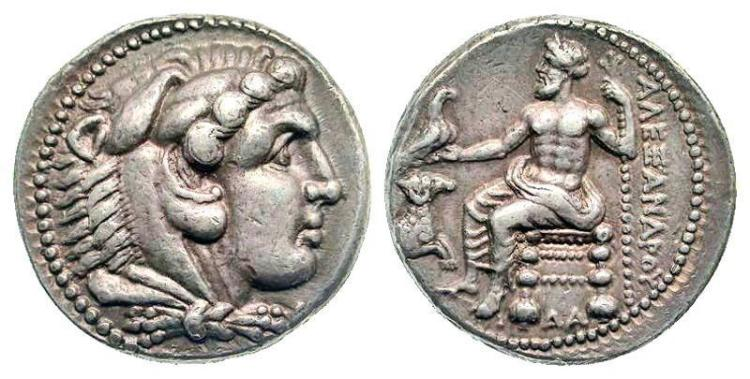 Greek Coin of KINGS of MACEDON. Alexander III Damascus EDIT
