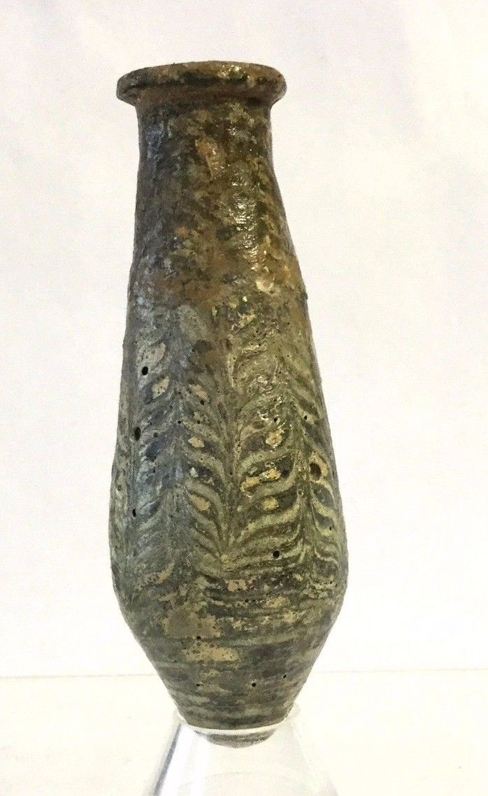 Egyptian Core -Formed Glass Alabastron