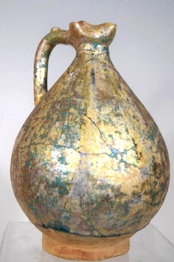 Islamic persian Nishapur Ceramic Pitcher
