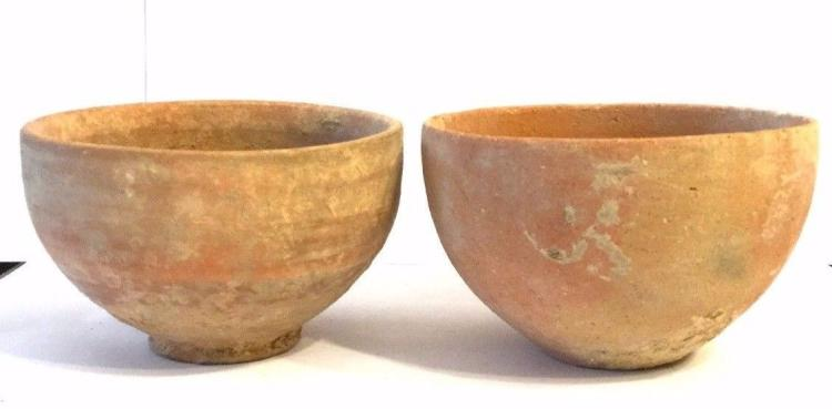 Lot of 2 Ancient Iron clay Bowl.