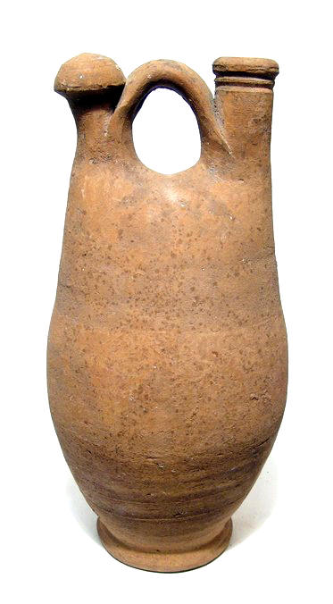 Large Late Roman / Byzantine ceramic jug.