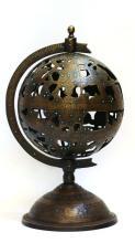 Islamic Brass Ball Astrolabe .