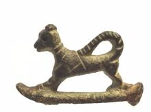 Ancient Roman Bronze Animal .