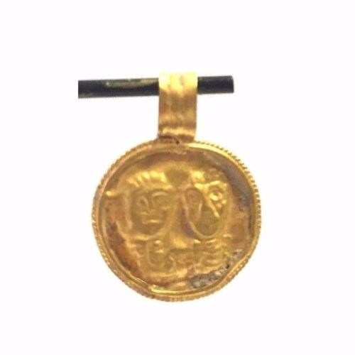 Ancient Byzantine gold Amulet.