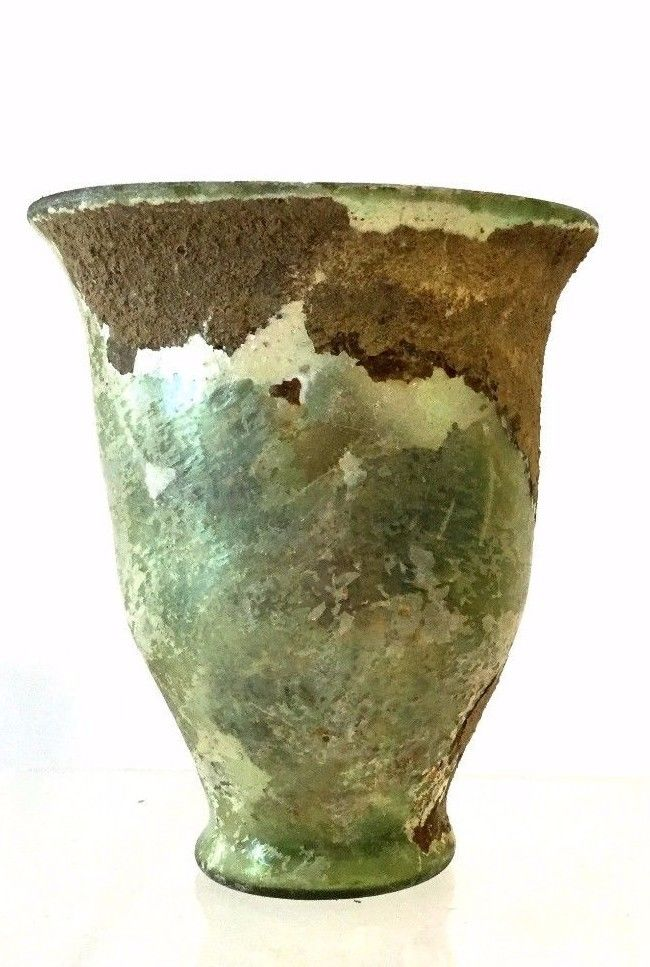Ancient Roman glass Cup .