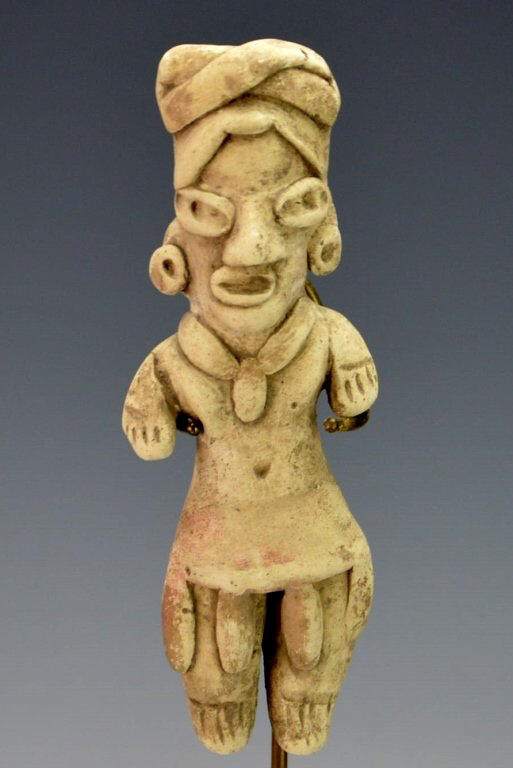 Pre-Columbian, Mexico Clay Figurine .