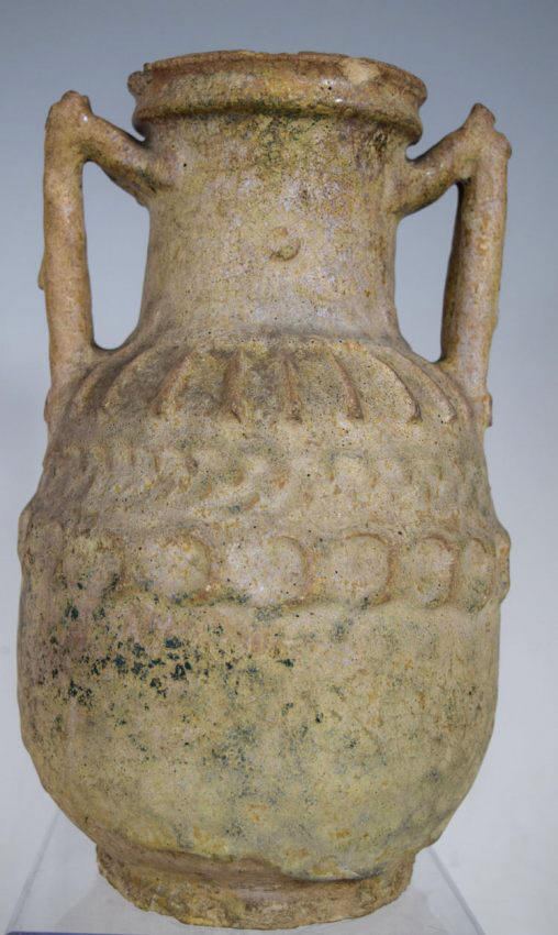 Ancient Islamic Persian Ceramic Vase.