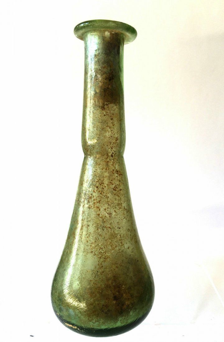 Roman Glass flask unguntaria.