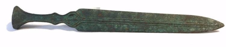 Ancient Luristan Bronze sword.