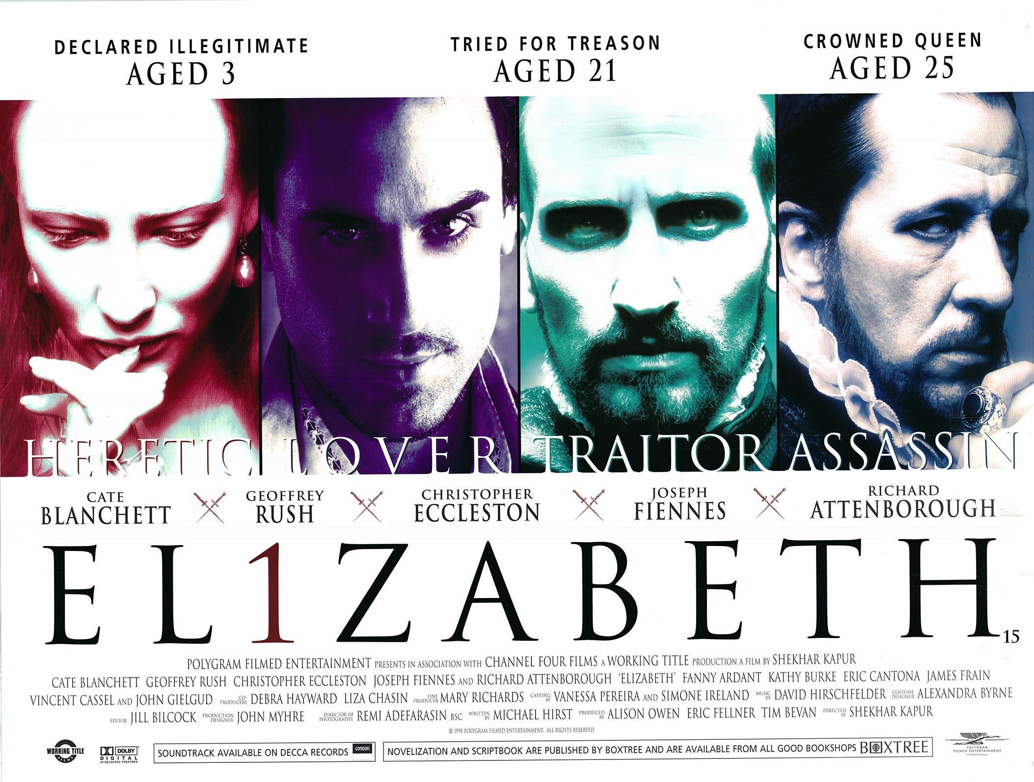 Lot - Elizabeth 1998 original movie poster