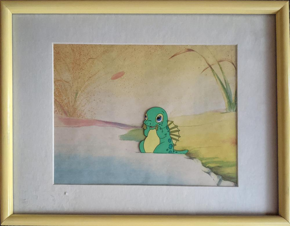 Dink, The Little Dinosaur Framed Animation Cel