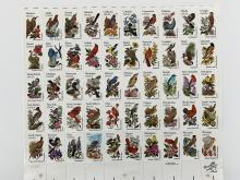 US State Birds and Flowers Full Sheet of Fifty 20 Cent Stamps Scott 1953-2002
