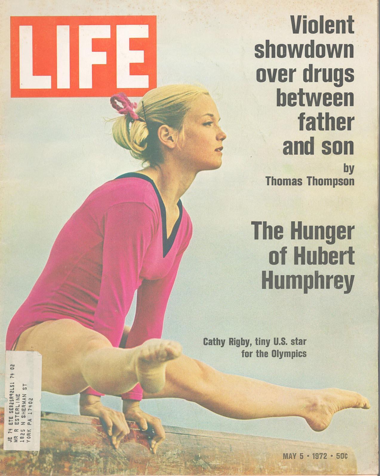 Cathy Rigby Life Magazine. May 5, 1972