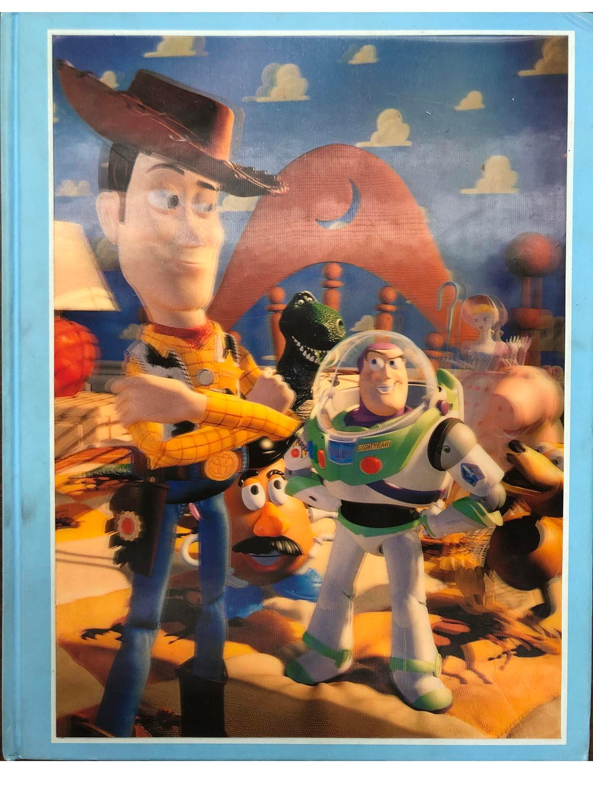 Toy Story hardcover coffee table book