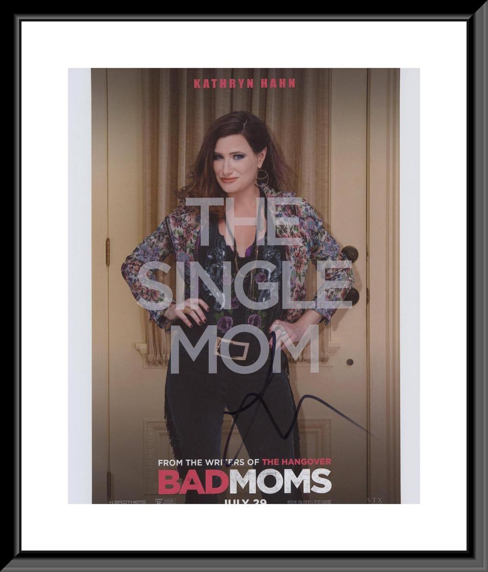 The Single Mom signed photo