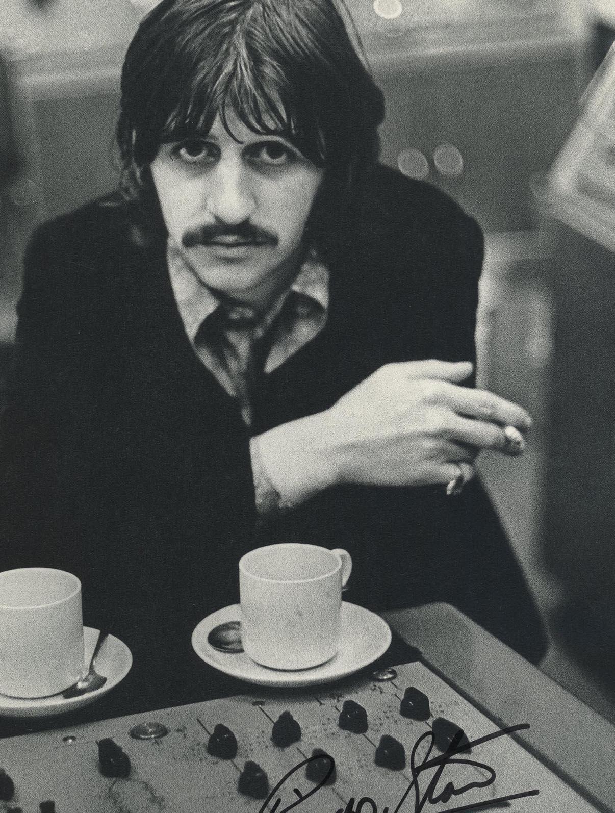 Ringo Starr signed photo