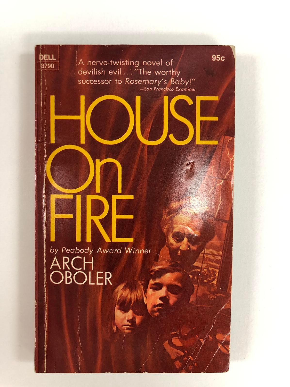 House on Fire first edition and personal check