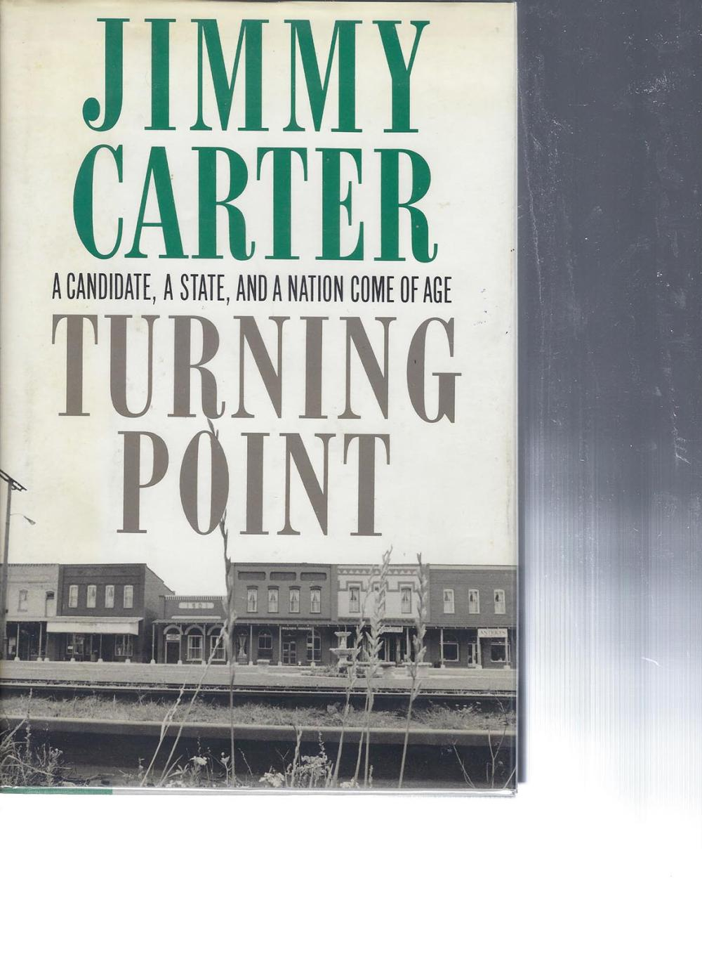 Turning Point Jimmy Carter signed book