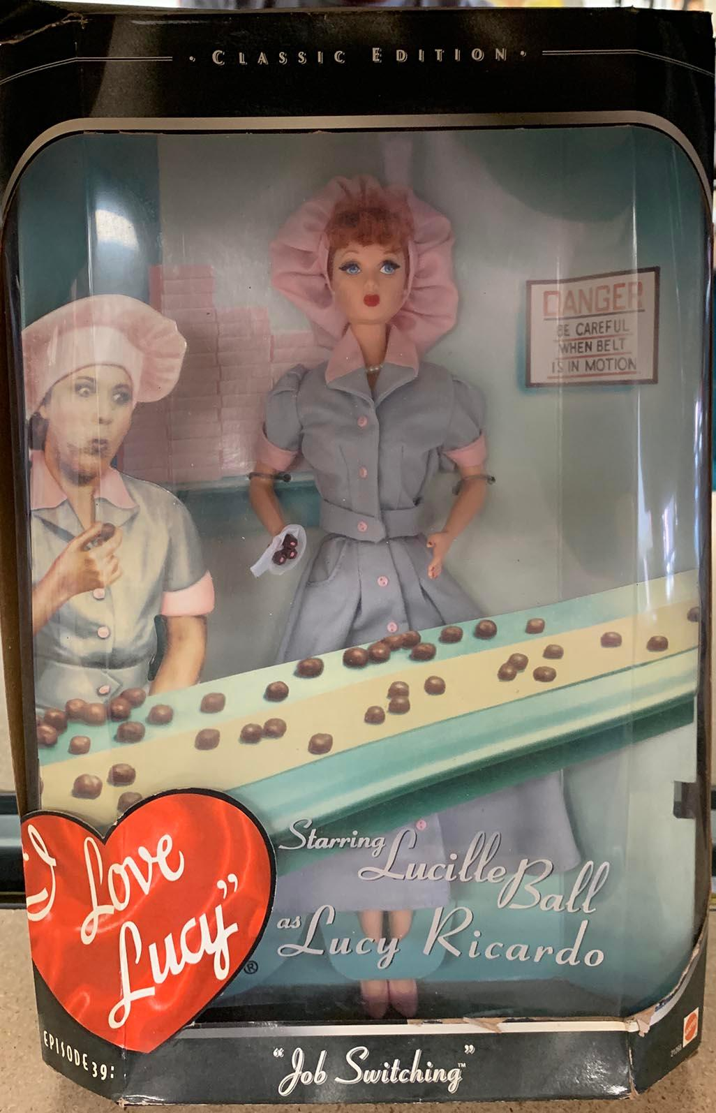 Mattel Classic Edition I Love Lucy; Lucy Ricardo Barbie Doll new in box.