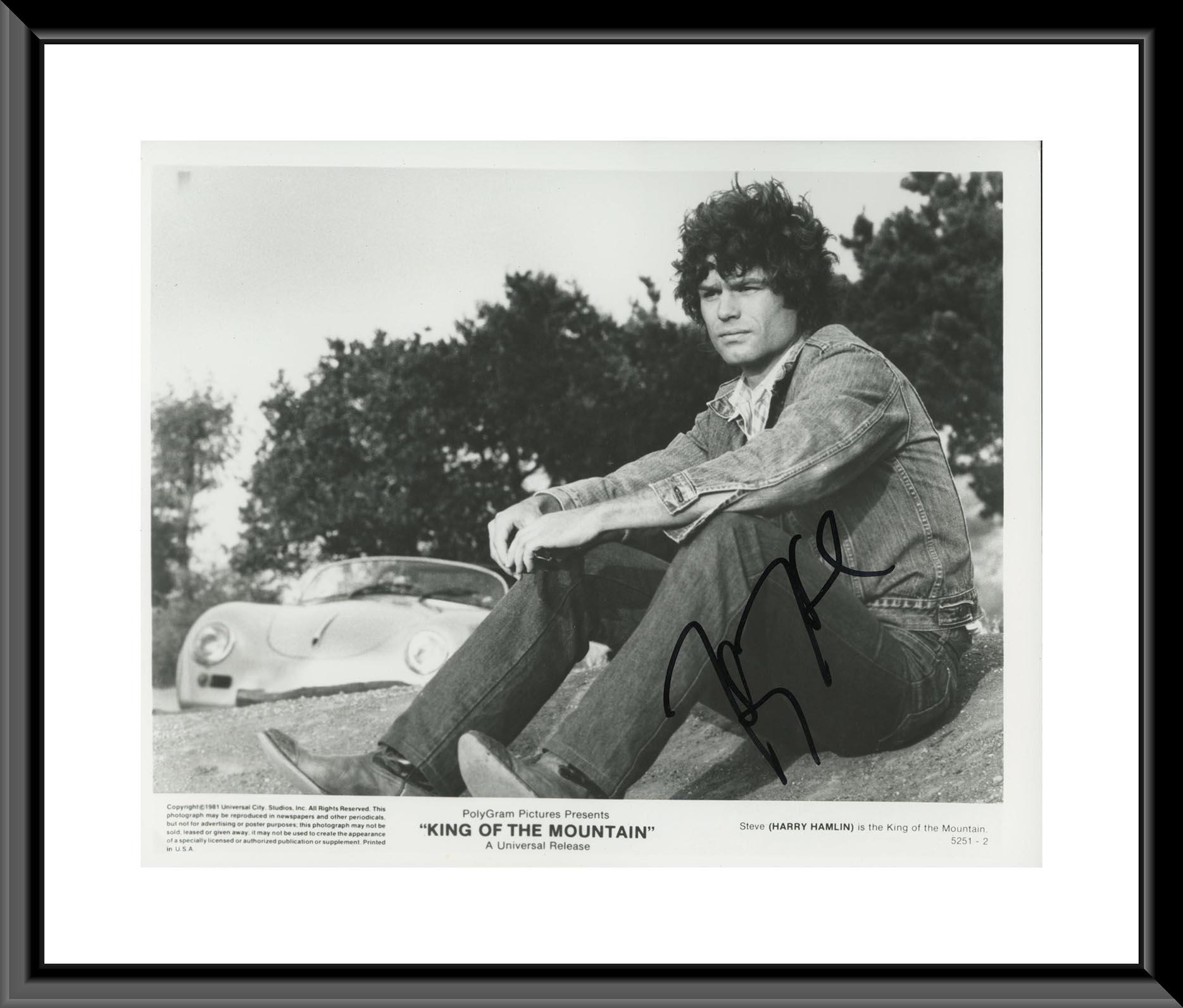 King of the Mountain signed photo