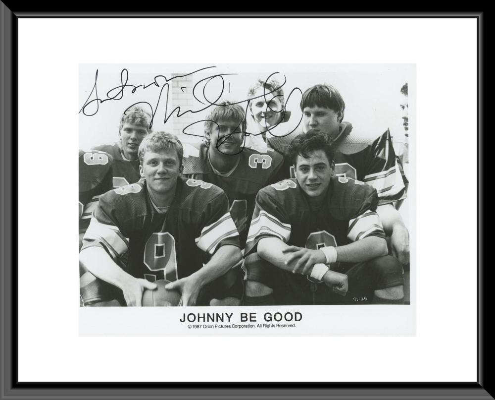 Johnny Be Good signed photo