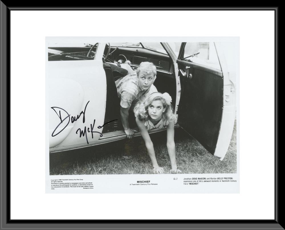Mischief signed photo