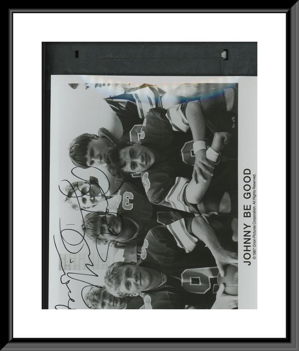 Johnny Be Good signed photo