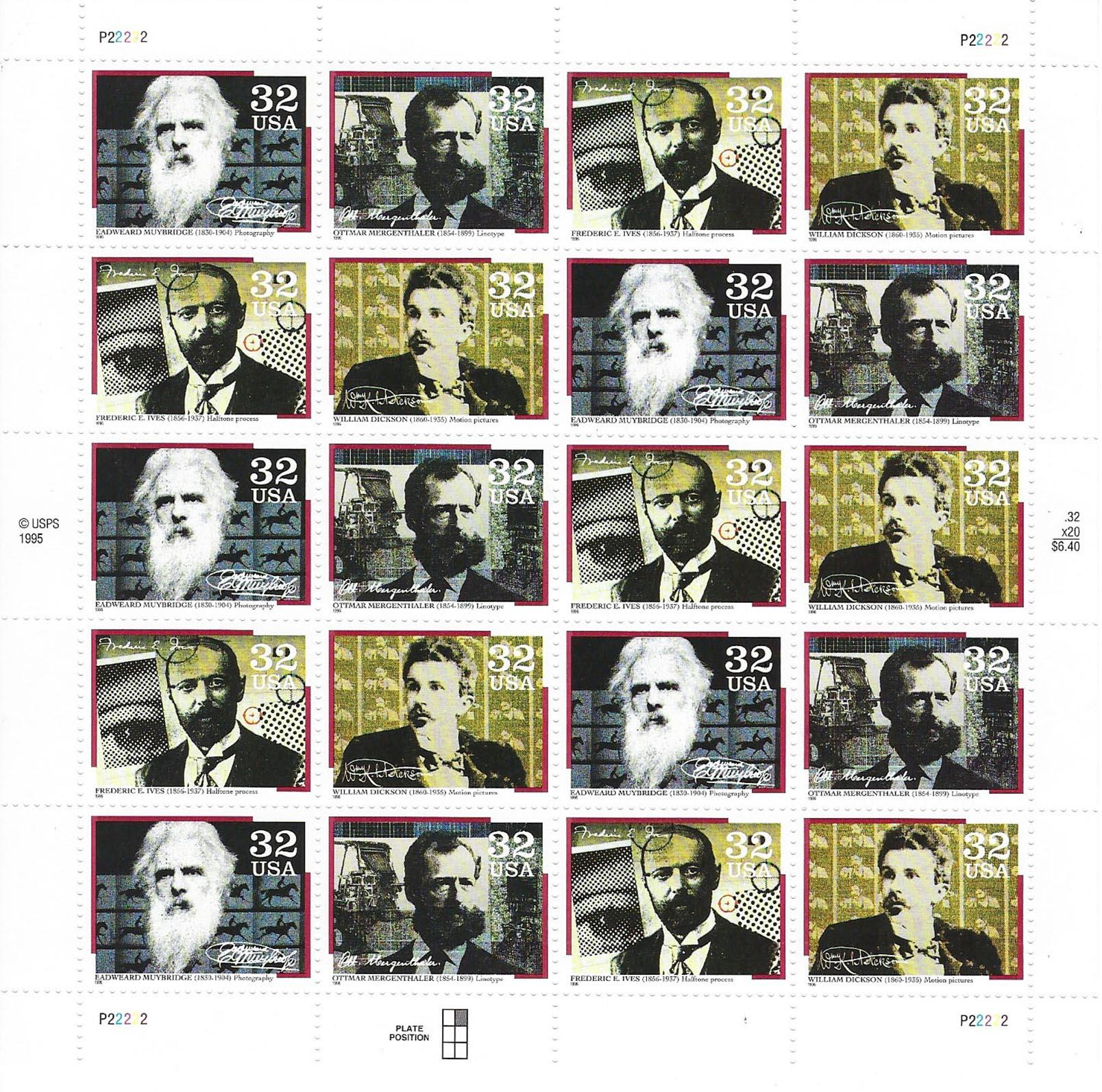 Pioneers of Communication Stamps