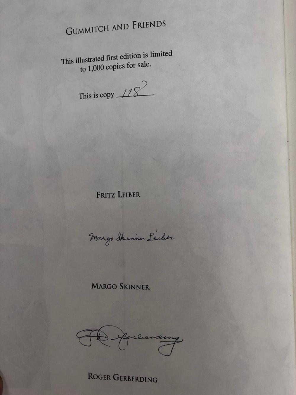 Margo Skinner signed book