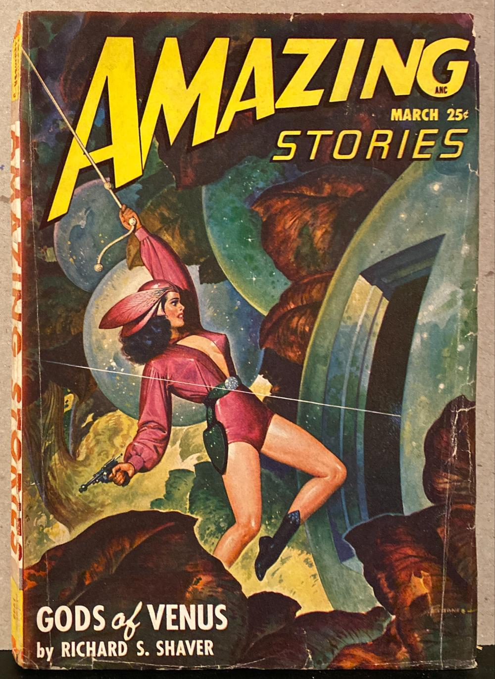 1948 Amazing Stories Pulp Magazine