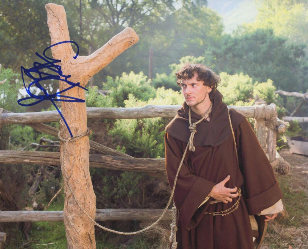 Vikings George Blagden signed photo