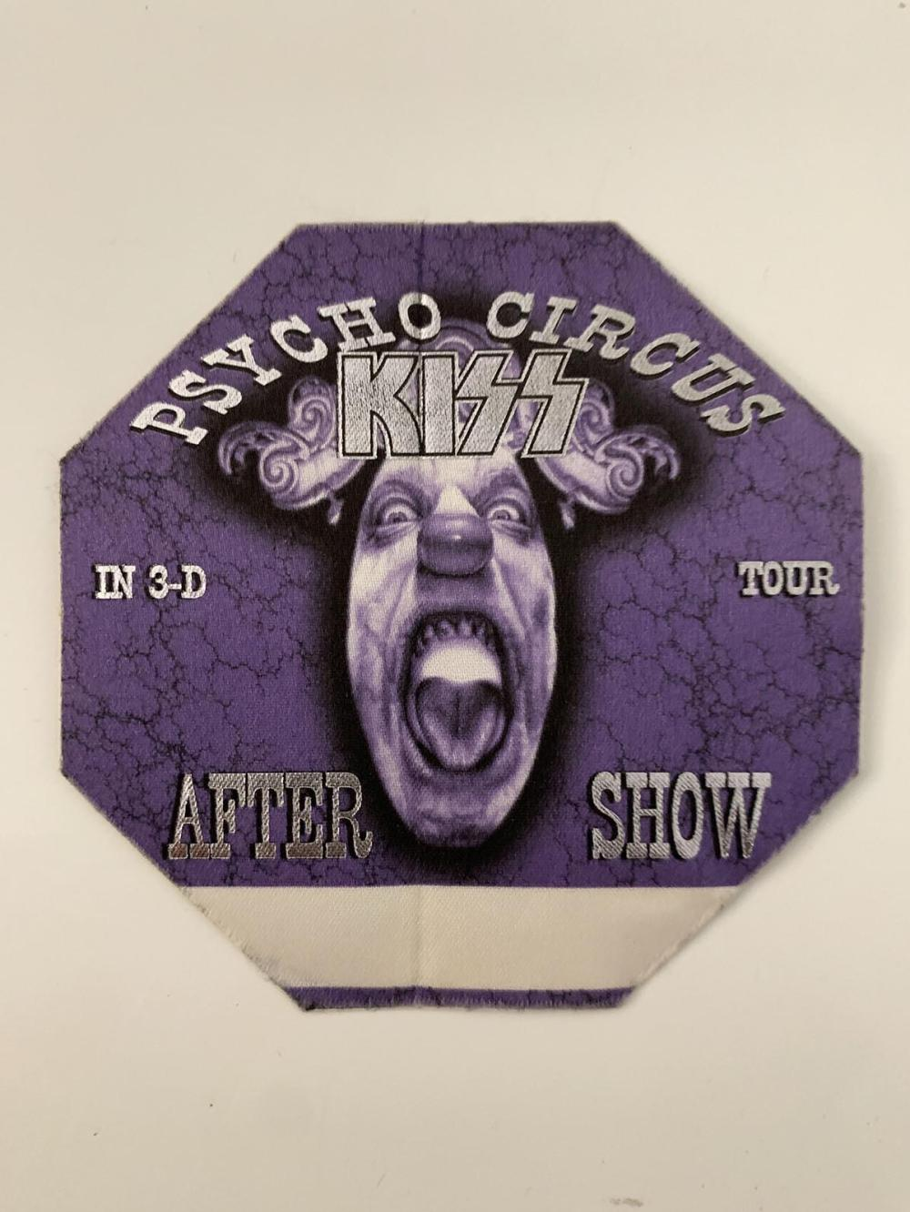 Kiss Psycho Circus Tour in 3D After Show Pass