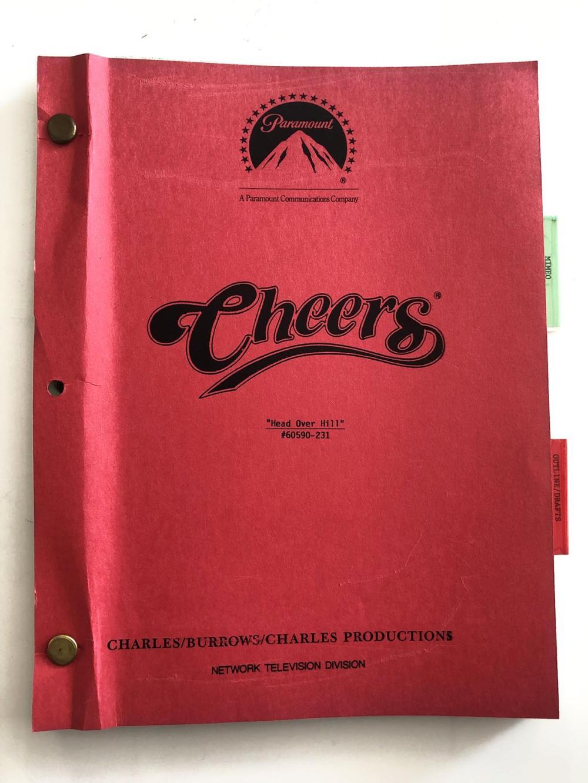 Cheers Original Script - Head Over Hill